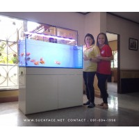 ขาตู้ปลาเฟอร์นิเจอร์ (ฐานวาง) รุ่น Smooth Plus 120x45 cm. H:80 cm.