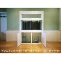 ฐานวางตู้ปลาเฟอร์นิเจอร์ รุ่น Lobby Plus ขนาด 48x24 inch. H:200 cm. สีขาว